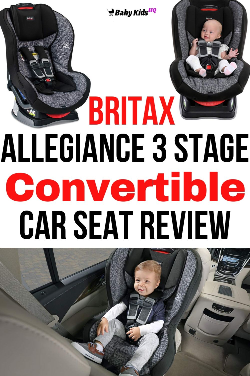 The Britax Allegiance Convertible Car Seat meets federal safety standards to guarantee security and has several key points that provide convenience and value.