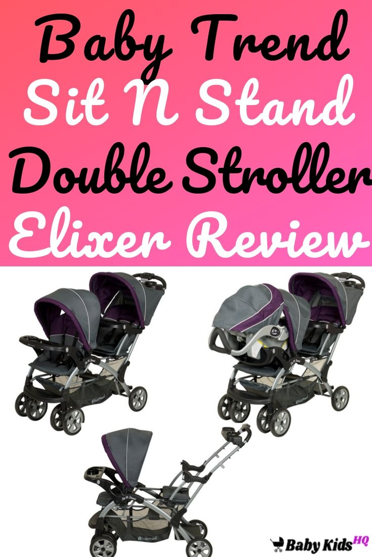 Baby Trend Sit N Stand Double Stroller,Elixer Review