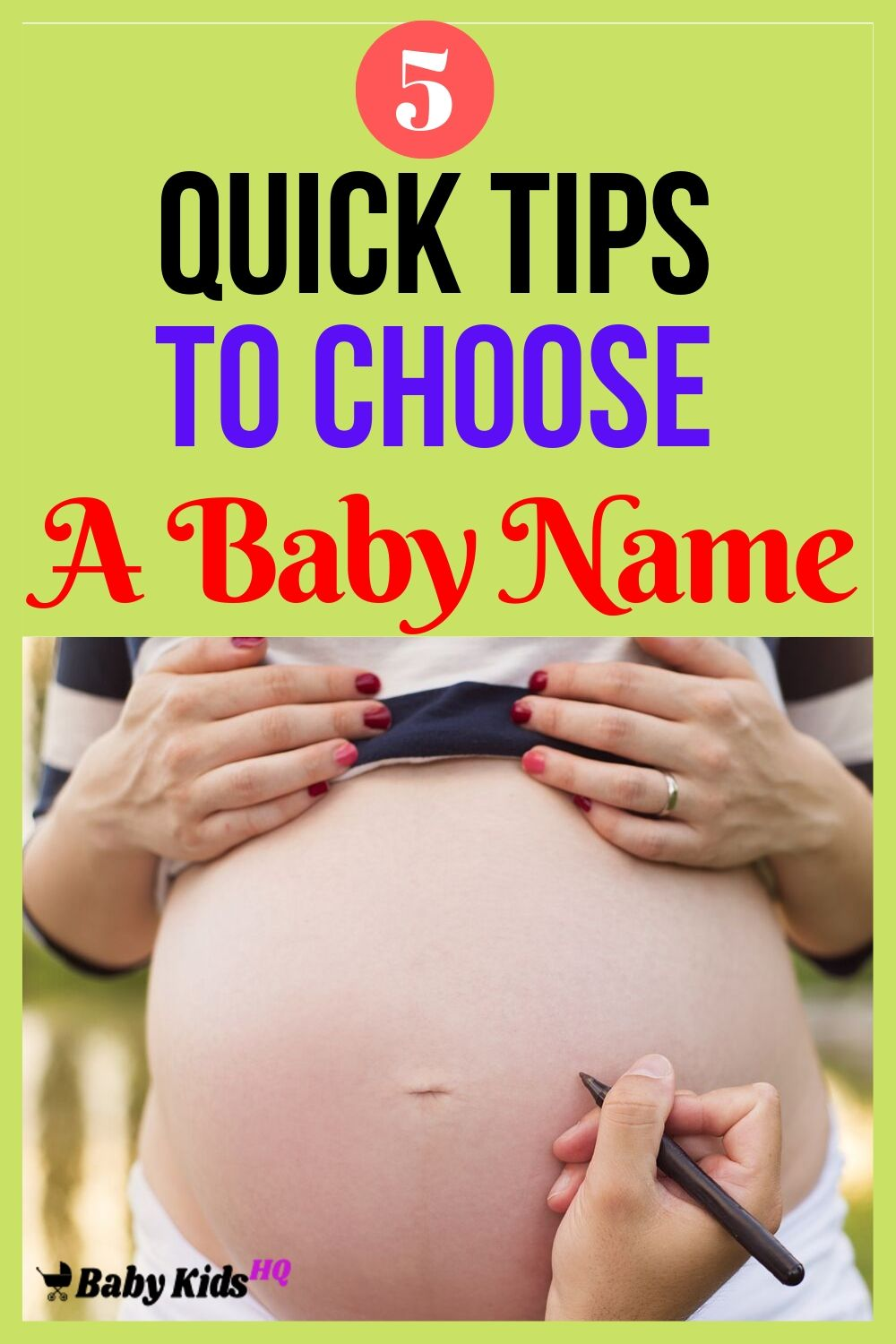 Picking a name is one of the most significant things you will need to do during your pregnancy.Yes, you need to choose a name that your child will love and adore, not something he/she'll hate or perhaps be made fun of.You will find several things to look out for when naming your child.