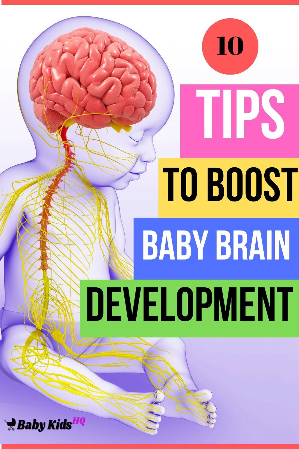 10 Ways To Stimulate Baby Brain! Tips To Boost Baby Brain Development
