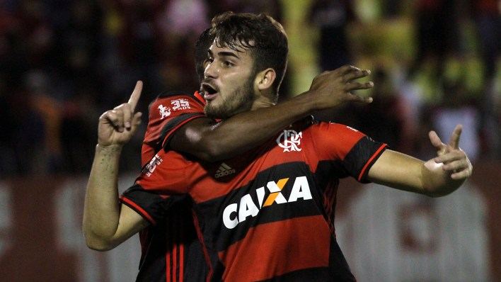 Felipe Vizeu, do Flamengo