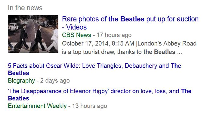 Google News Box