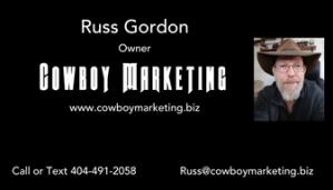 Cowboy Marketing Business Card