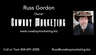 Cowboy Marketing Business Card