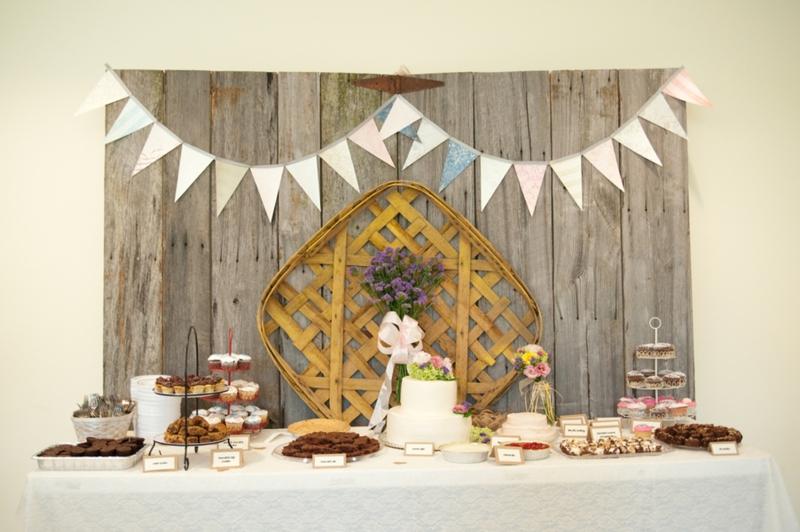 wedding detail cake backdrops