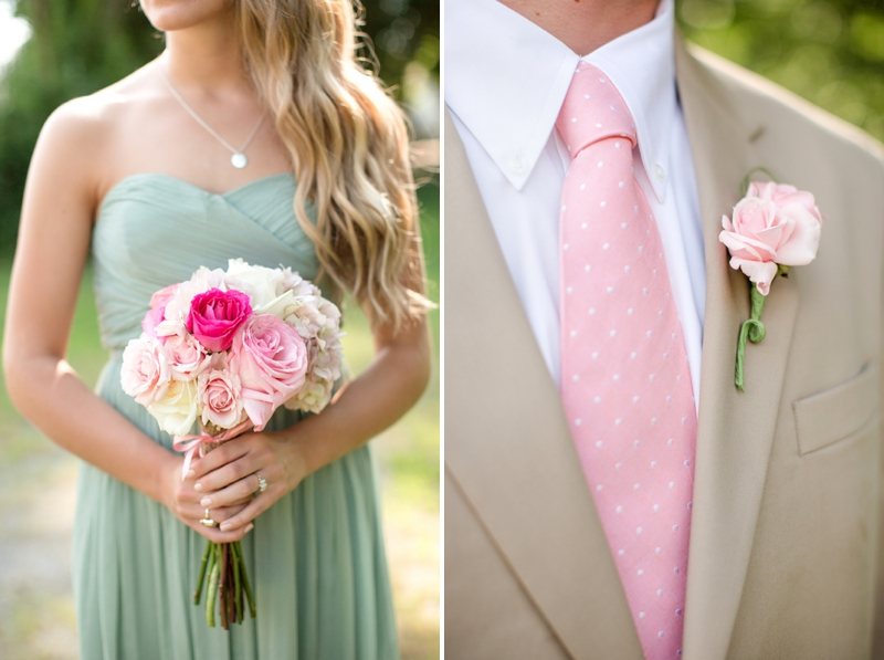 A Pink, Mint, And Burlap Wedding  Every Last Detail