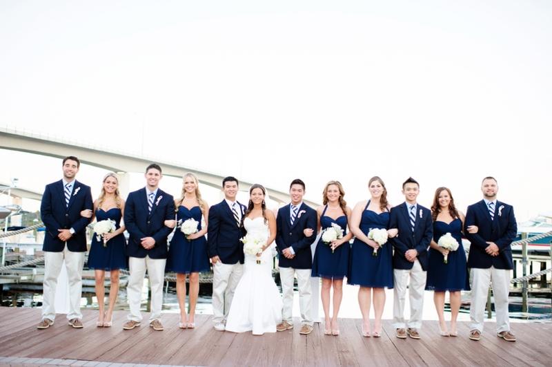 Classic Nautical Florida Wedding Every Last Detail