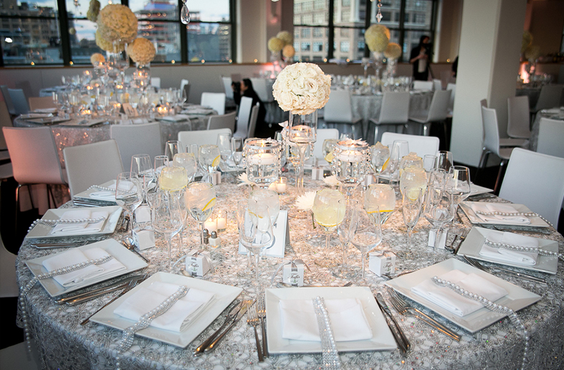 Classic White and Silver New York Wedding 11  Every Last Detail