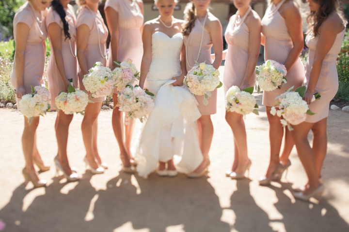 A Romantic Timeless Champagne and Blush Wedding  Every Last Detail