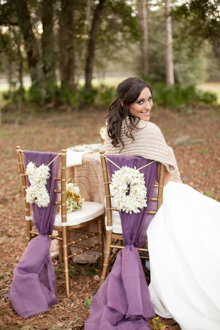 Rustic Glitter Wedding Invitations