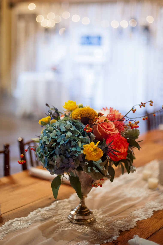 Orange  Cornflower Blue Tennessee Wedding  Every Last Detail