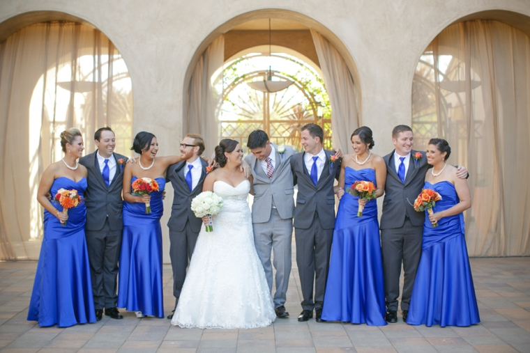 A Cobalt Blue Spanish Inspired Wedding  Every Last Detail