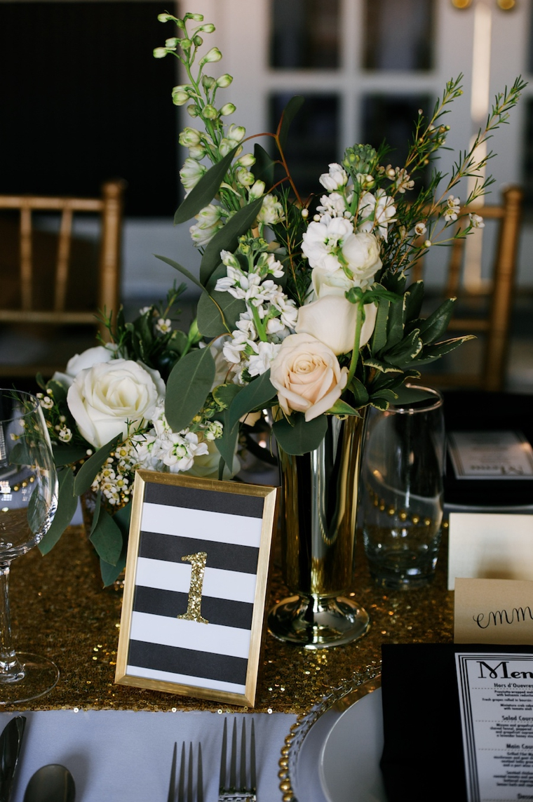 Modern Black and Gold Wedding Ideas  Every Last Detail
