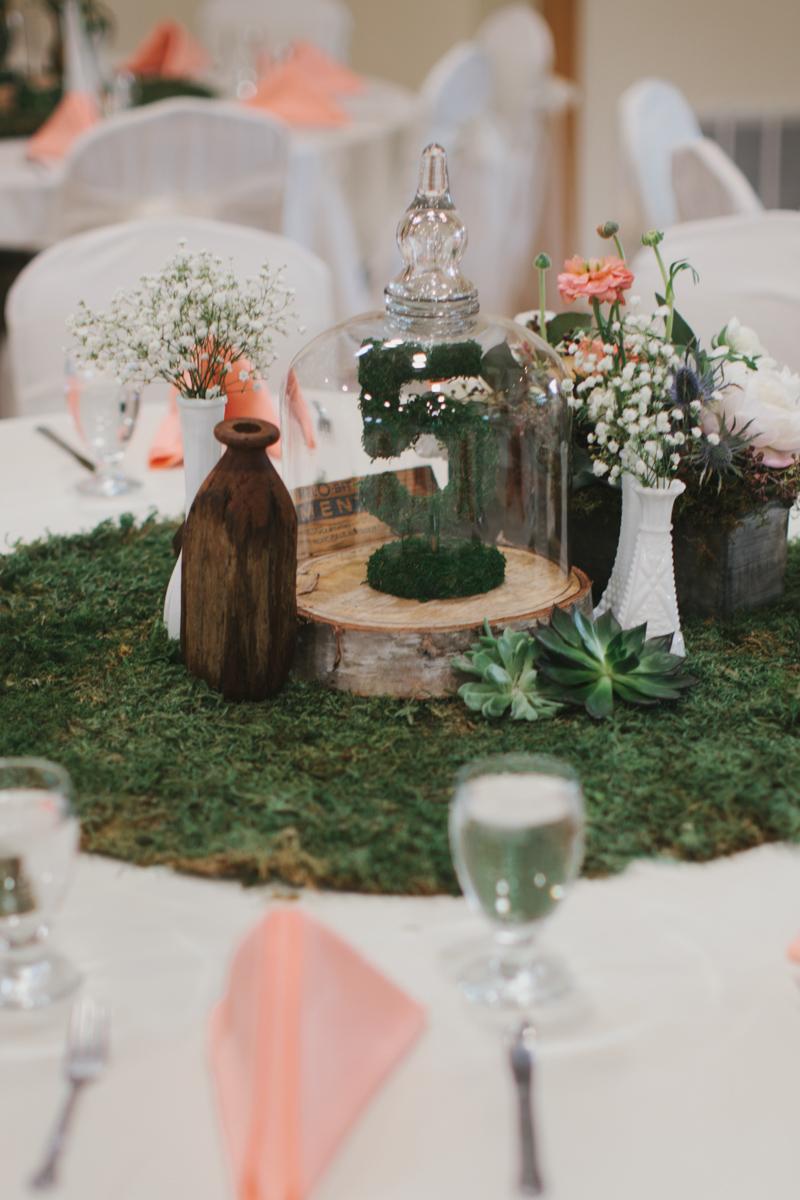 Rustic Peach And Green Farm Wedding Every Last Detail