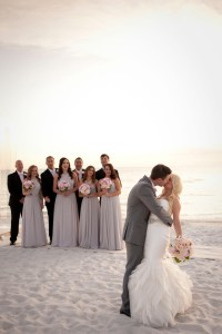 A Glamorous Silver & Blush Beach Wedding | Every Last Detail