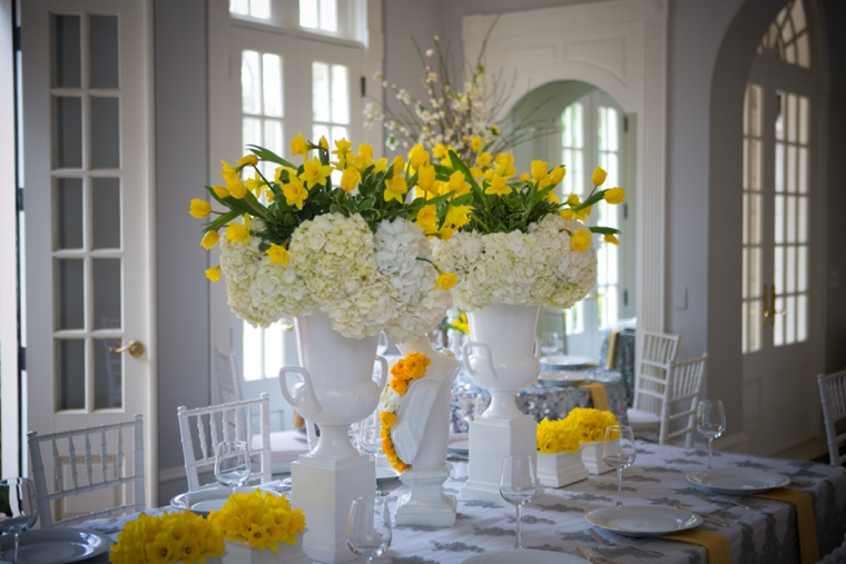 Modern Chic Yellow And White Wedding Ideas