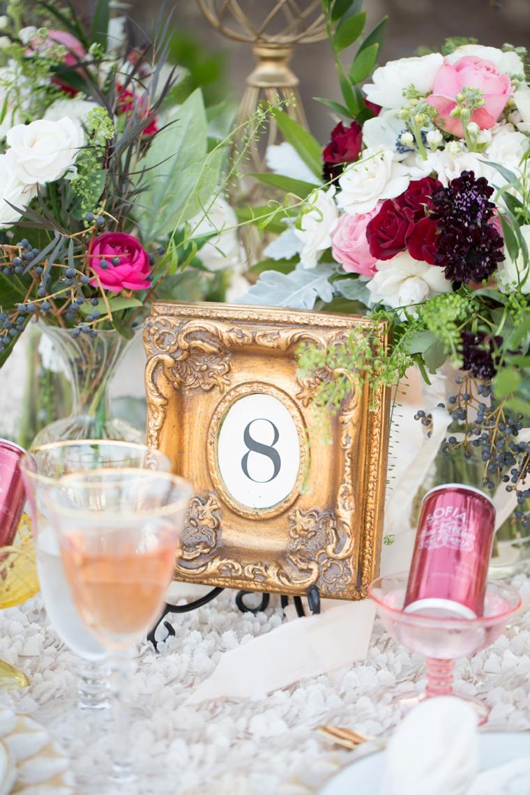 Romantic Blush Marsala and Gold Wedding Ideas  Every