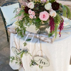 Chair Covers Wedding Ideas Lazy Boy Sleeper Rustic Elegant Blush And Red | Every Last Detail
