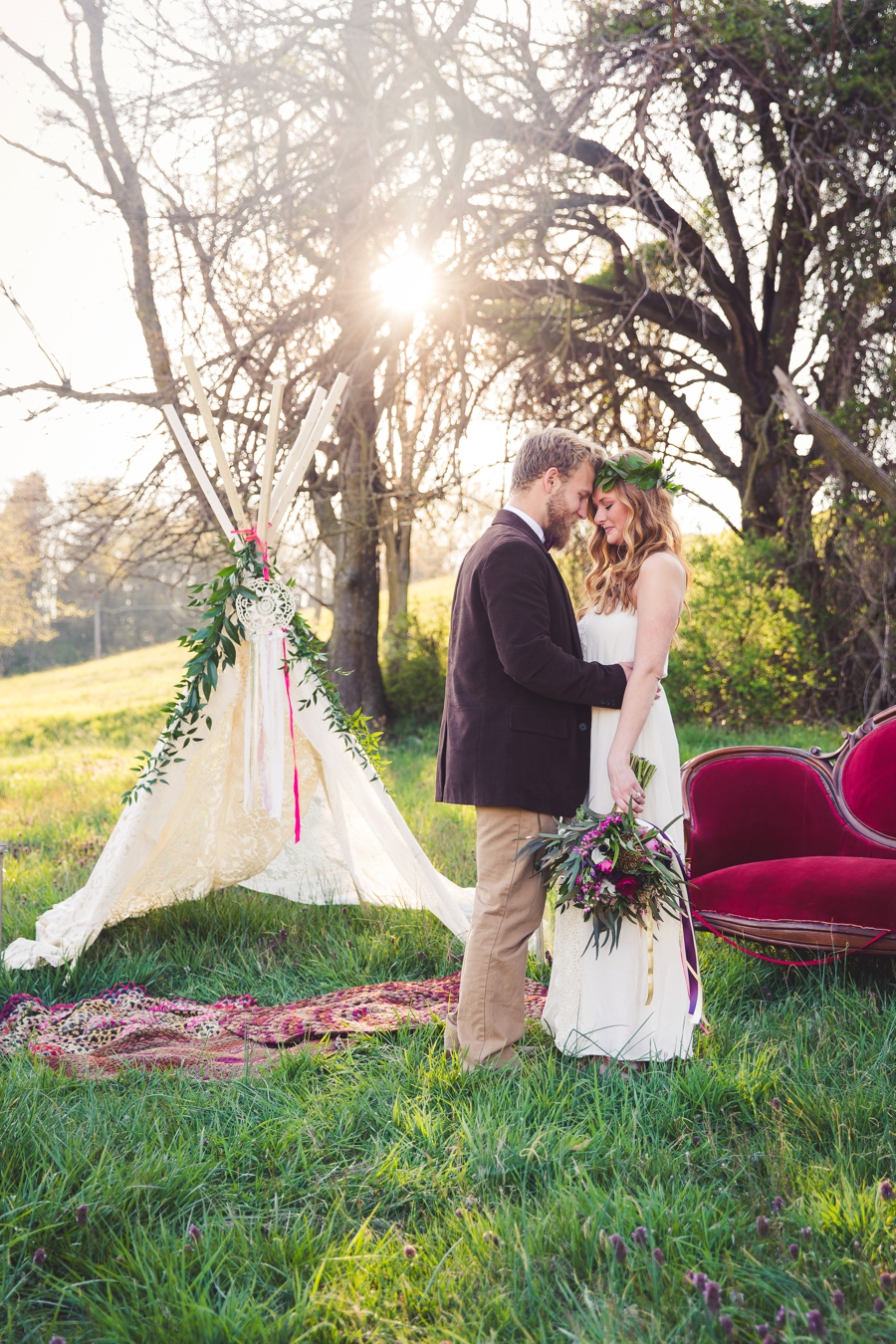 Colorful Rustic Boho Wedding Ideas Every Last Detail