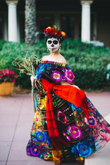 Colorful Cultural Dia De Los Muertos Wedding Ideas