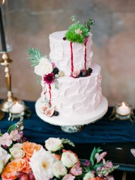 Jewel Toned Vintage Romantic Wedding Ideas via TheELD.com