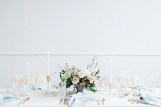 Blue Romantic Organic Wedding Ideas via TheELD.com