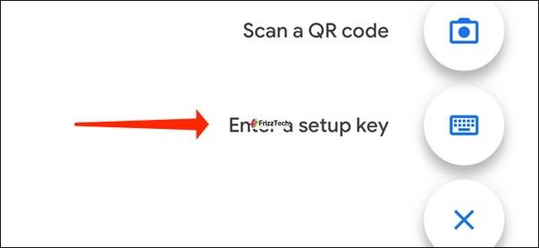 Instagram Security 2FA set steup Copy key start Enter key