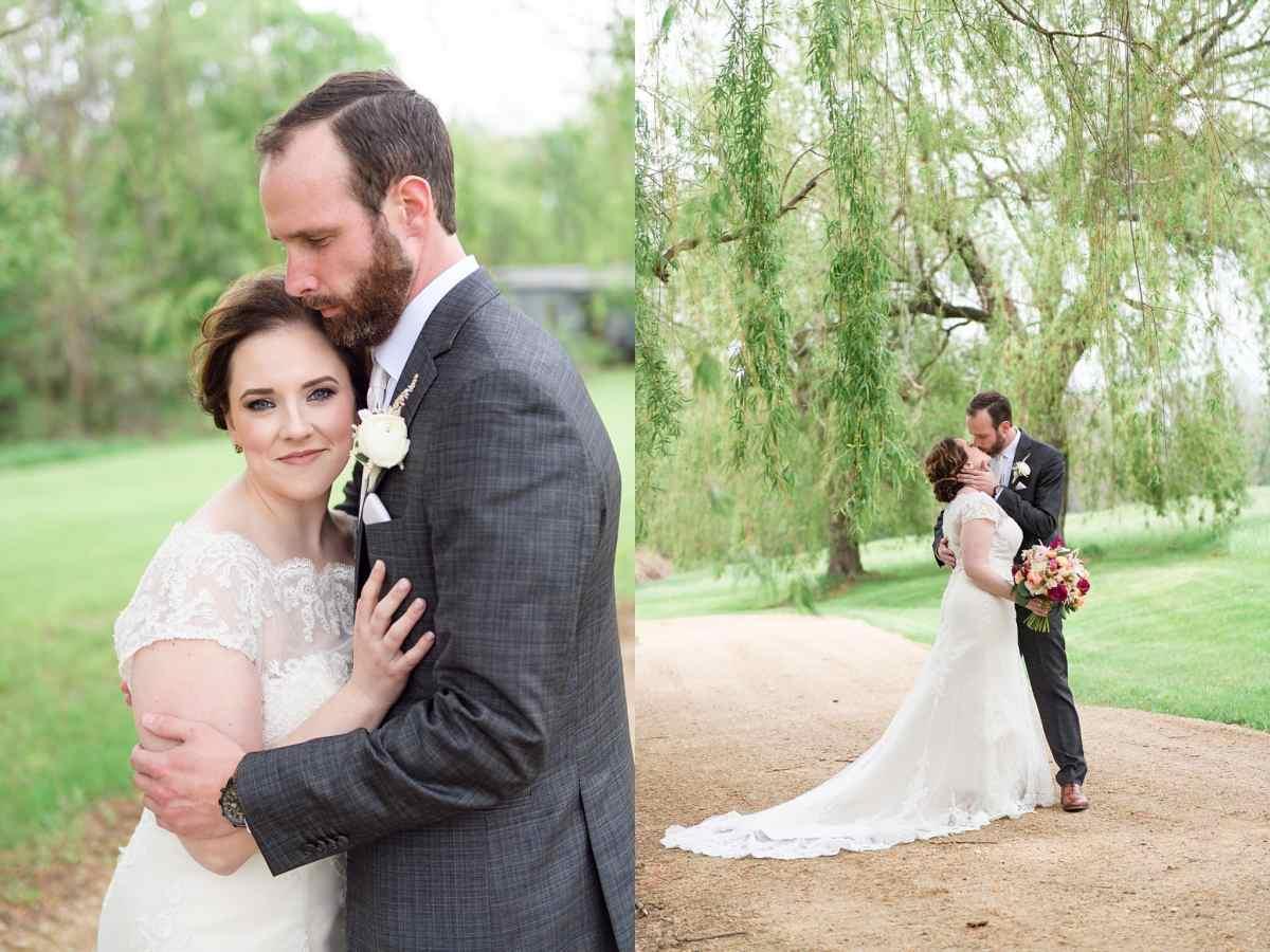 first look at galena wedding