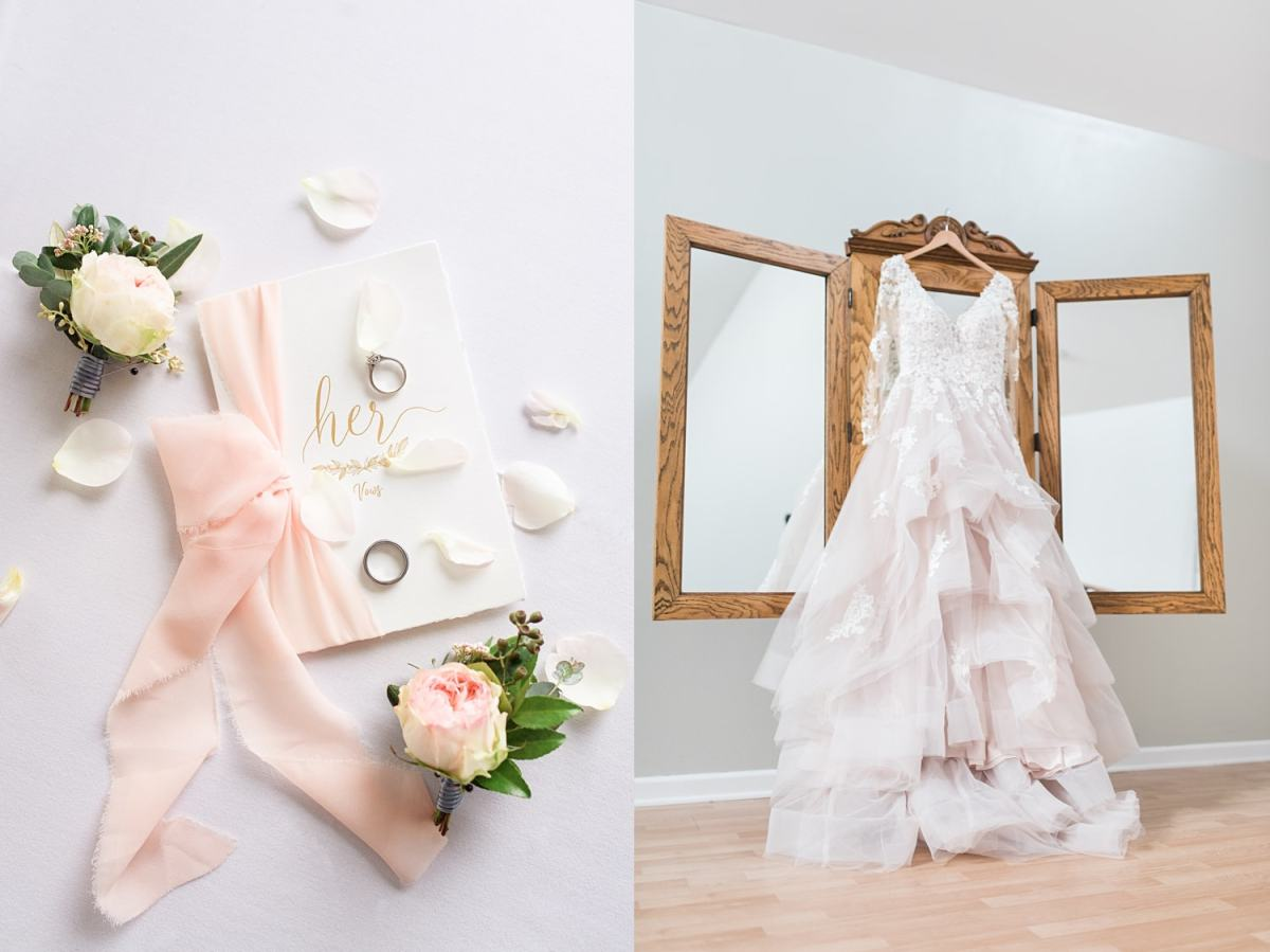 bridal details to prepare for your wedding photographer
