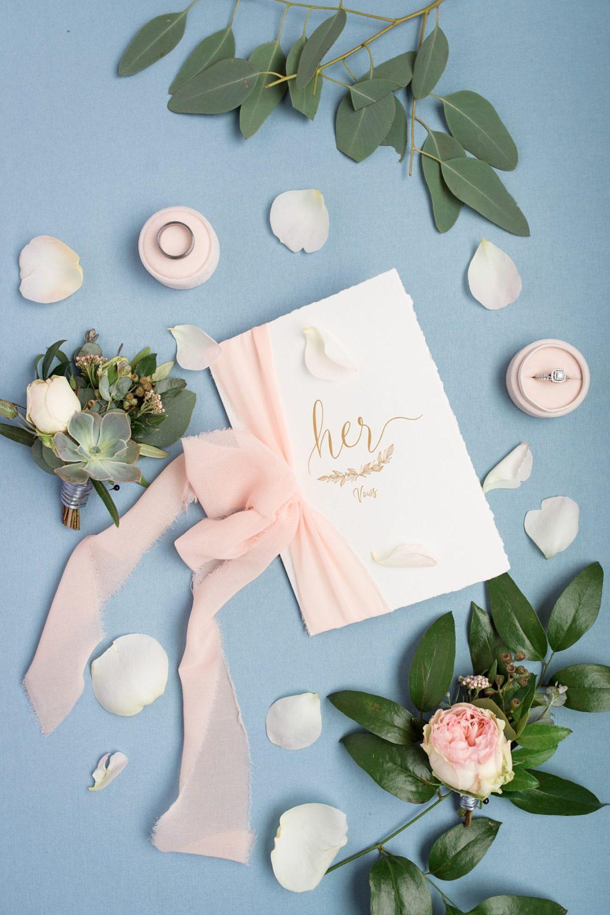custom calligraphy wedding vow books