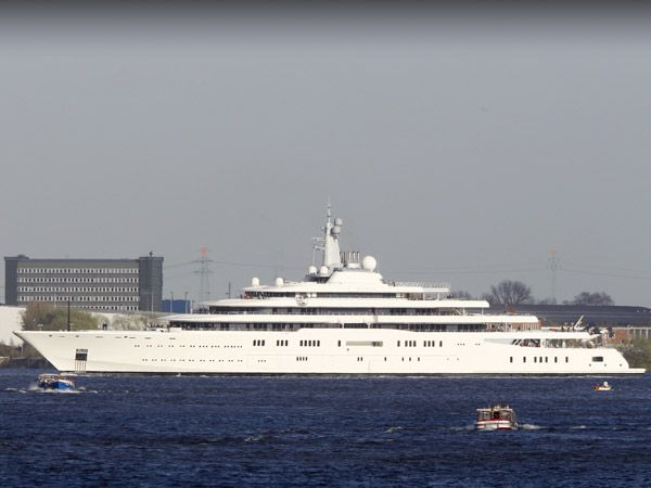 Eclipse Yacht - Roman Abramovich