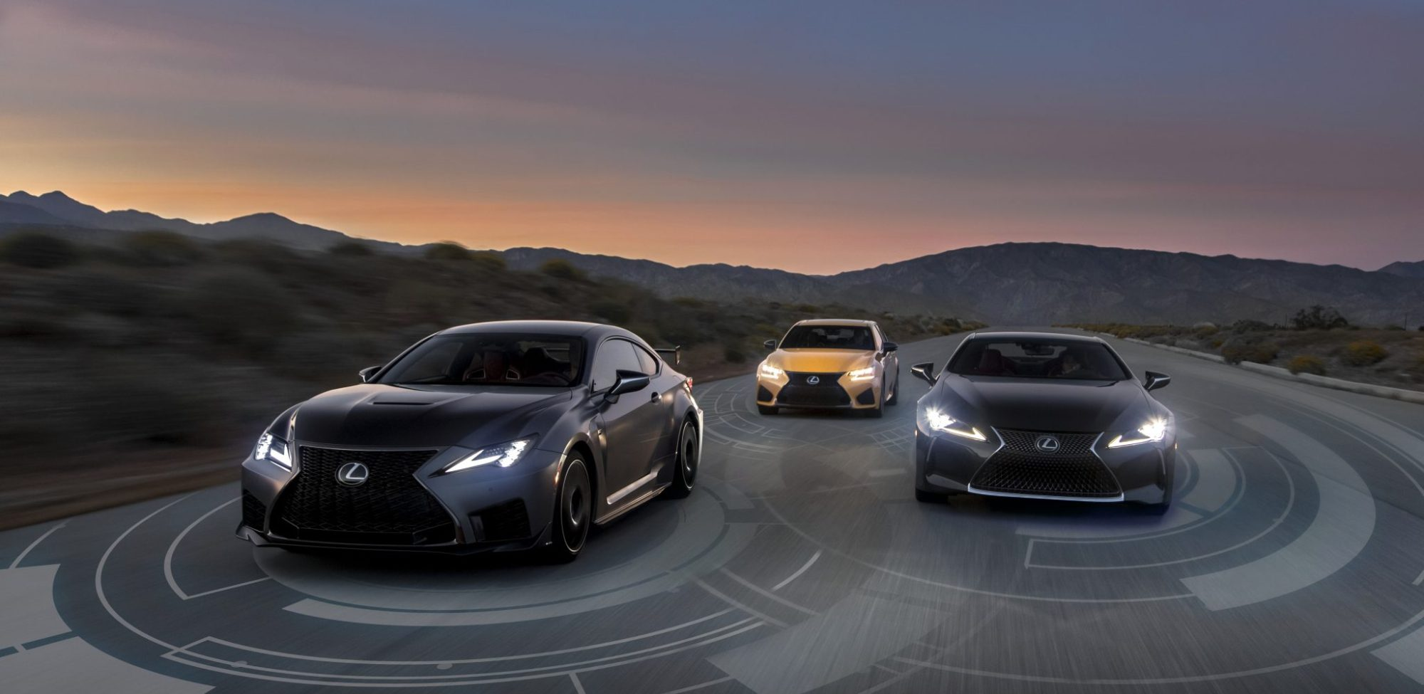 hight resolution of lexus moves one step closer to a world without crashes