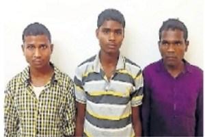 छत्तीसगढ़ के सुकमा में पुलिस पर हमला करने वाले तीन नक्सली गिरफ्तार, विस्फोटक भी मिले