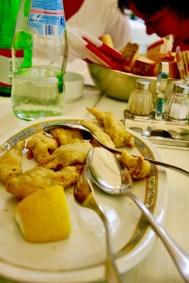 Ristorante Paris carciofi fritti