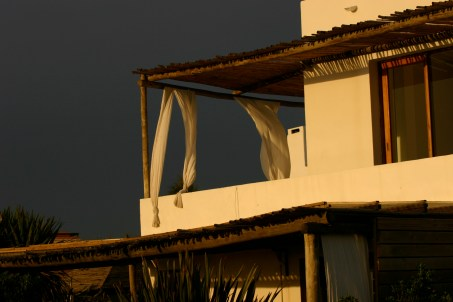 Posada del Faro sunset terrace