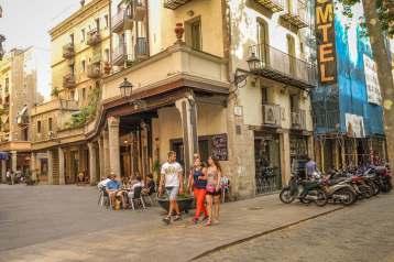 El Born Barcelona mercat ruins