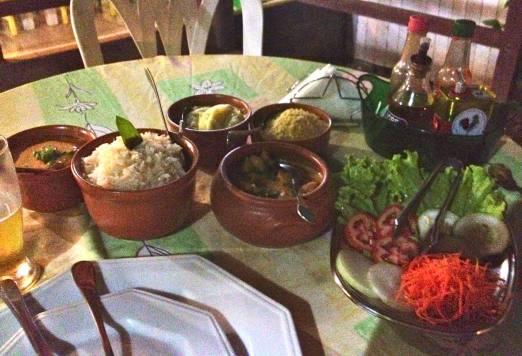 FERNANDO DE NORONHA Ecologiku's meal