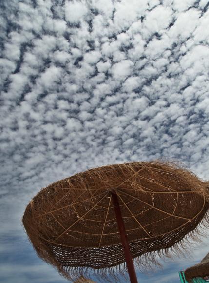 Jose Ignacio clouds umbrella