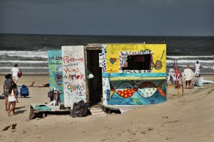 Jose Ignacio beach shack