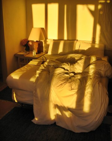 Posada del Faro sun in room