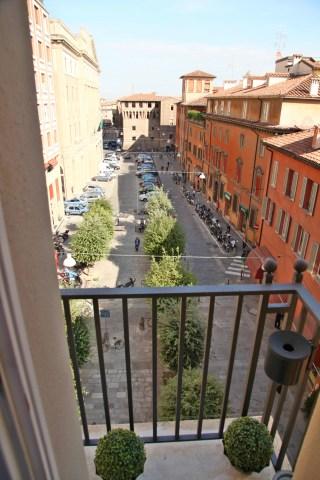 Art Hotel Novecento balcony