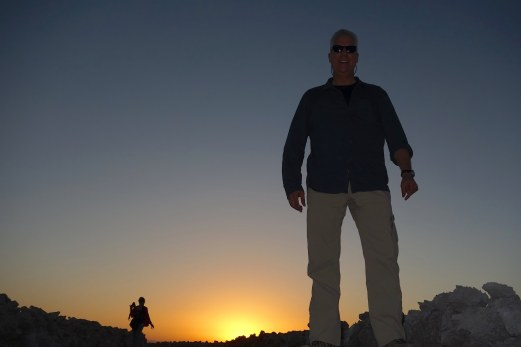 Salar de Atacama sun portrait