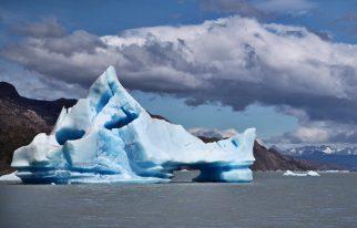 Torres del Paine Grey's Glacier iceberg