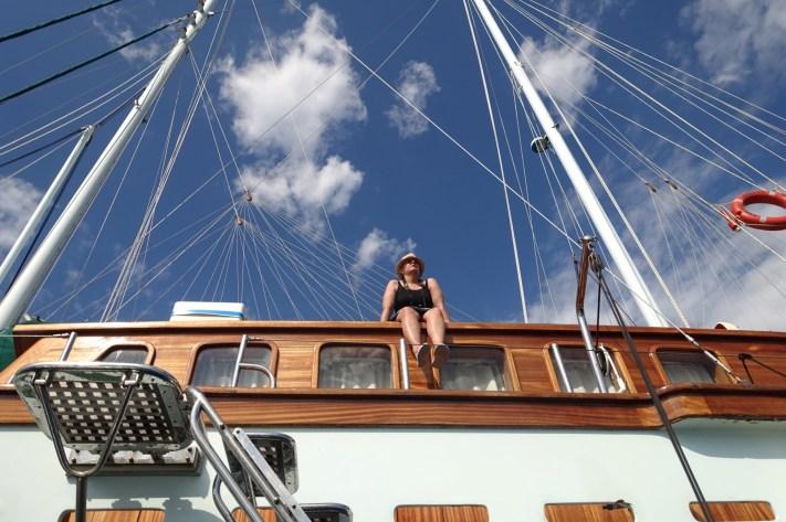 Queen of the Adriatic deckhand