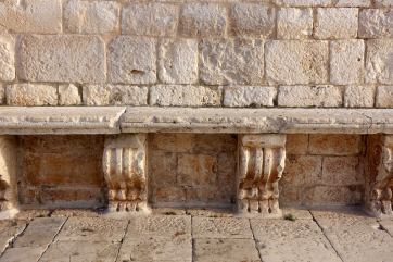 Hvar stone bench