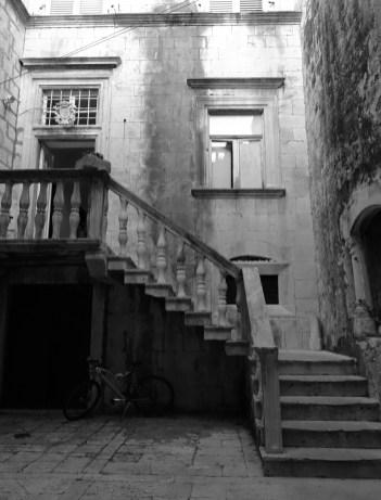 Korčula back alley