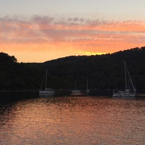 Mljet sunset