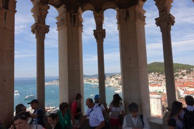 Split Bell Tower view