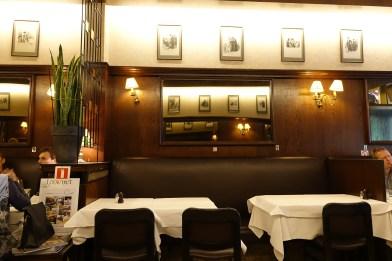Antwerp Ciro's Restaurant decor
