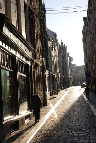 Brussels sun walker